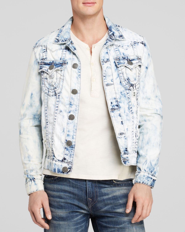 0d08fa85f8e52 True Religion Jimmy Slim Fit Western Jacket in Blue for Men - Lyst