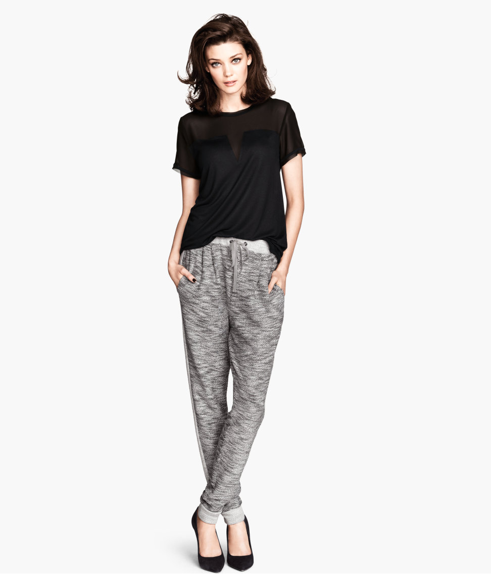 Lyst - H&M Sweatpants in Gray