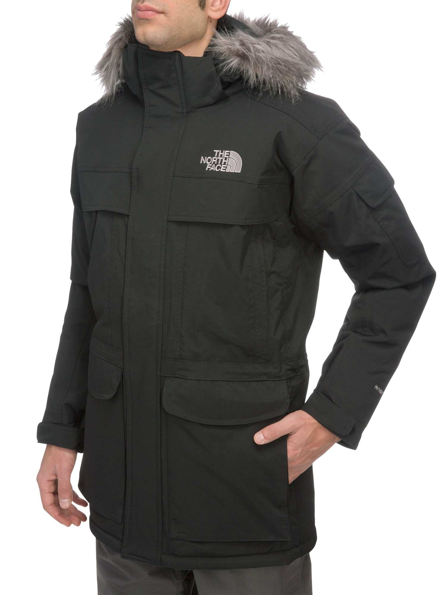 the north face men 39 s mcmurdo parka jacket in black for men lyst. Black Bedroom Furniture Sets. Home Design Ideas