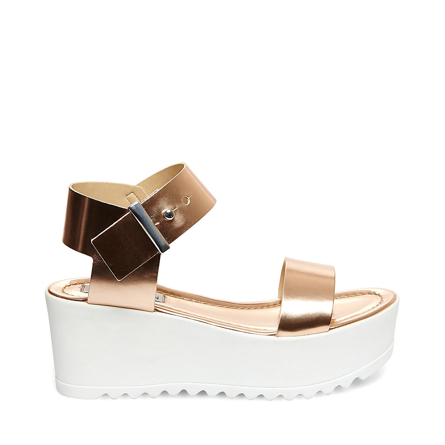 6b3639d7e29 Lyst - Steve Madden Surfside in Metallic