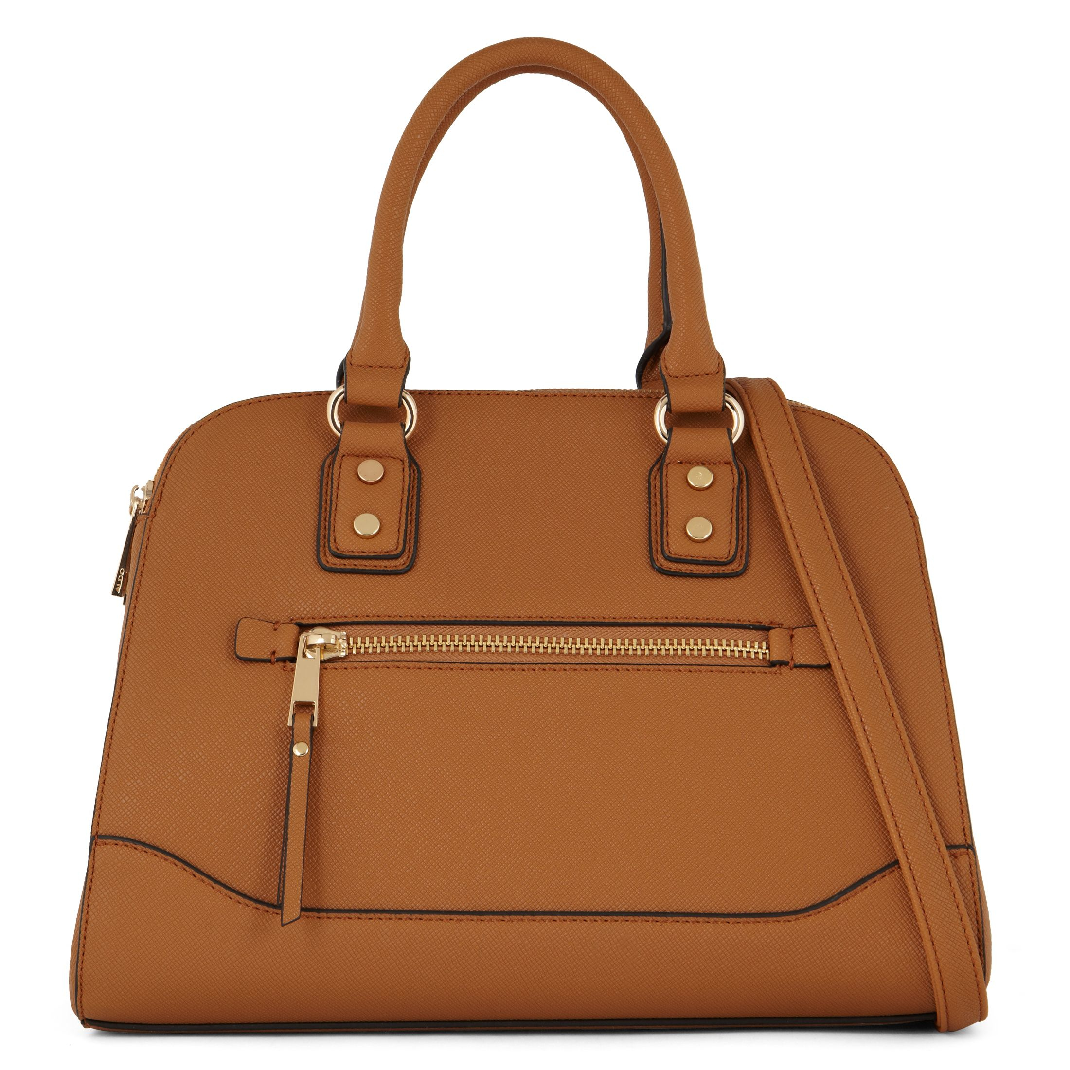 Aldo Anakardo Satchel Bag in Brown | Lyst