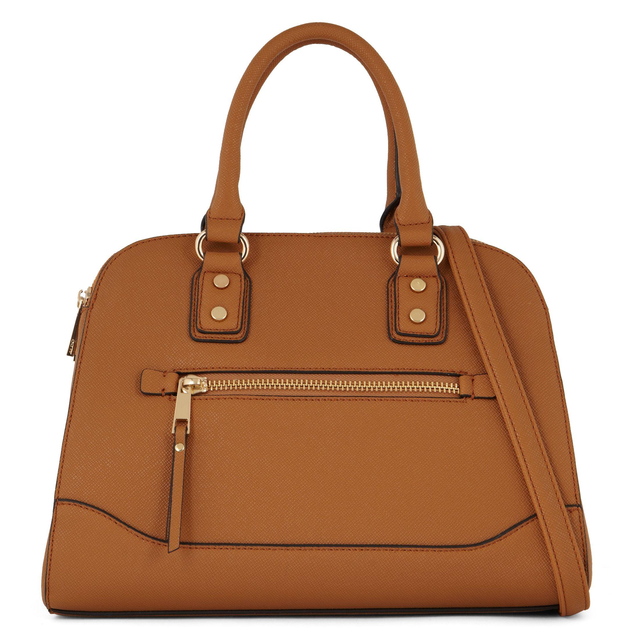 Aldo Anakardo Satchel Bag in Brown   Lyst