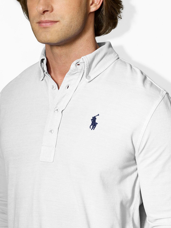 84d416637de Polo Ralph Lauren Printed Featherweight Mesh Polo Shirt - BCD Tofu House