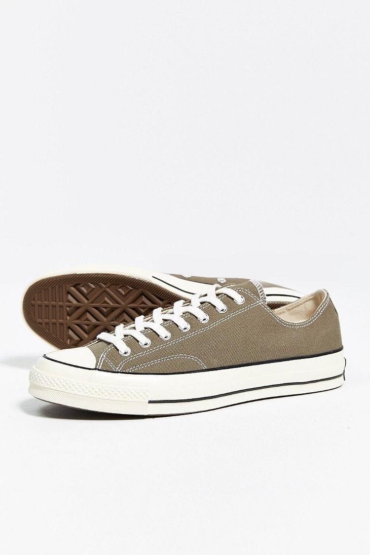 fef7e8b3177713 Lyst - Converse Chuck Taylor All Star 70S Low-Top Sneaker in Green ...