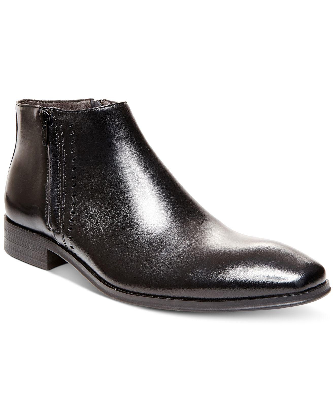 f4e9680eb2a Lyst - Steve Madden Felcore Dress Boots in Black for Men