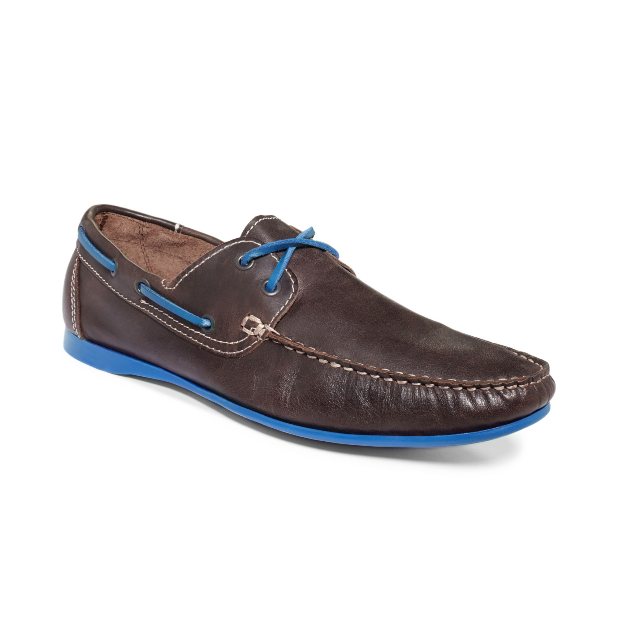 kenneth cole reaction total contrast shoes in brown for