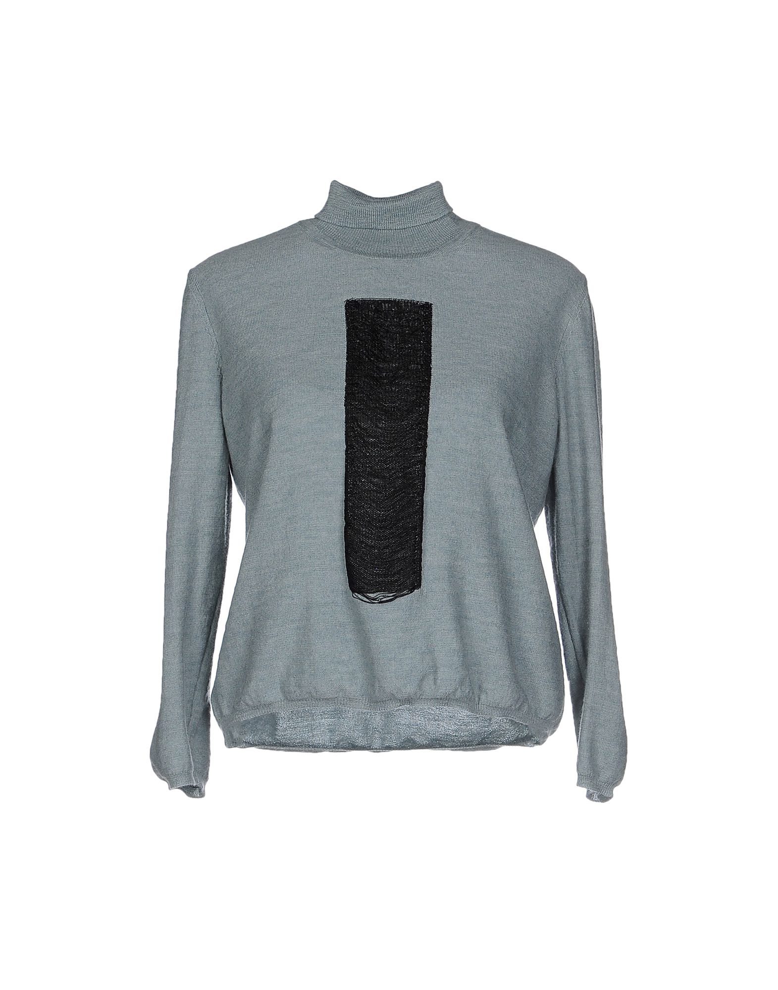 Lyst mm6 by maison martin margiela turtleneck in gray for Mm6 maison margiela
