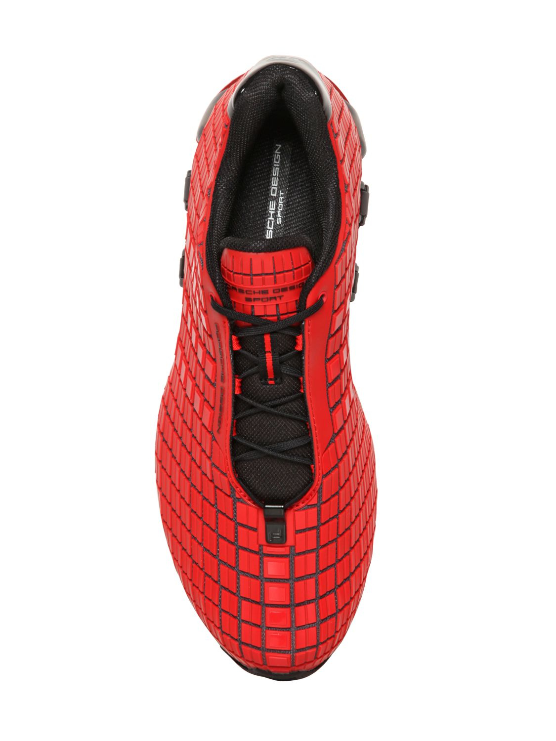 Porsche design Bounce S3 Sneakers in Red for Men | Lyst