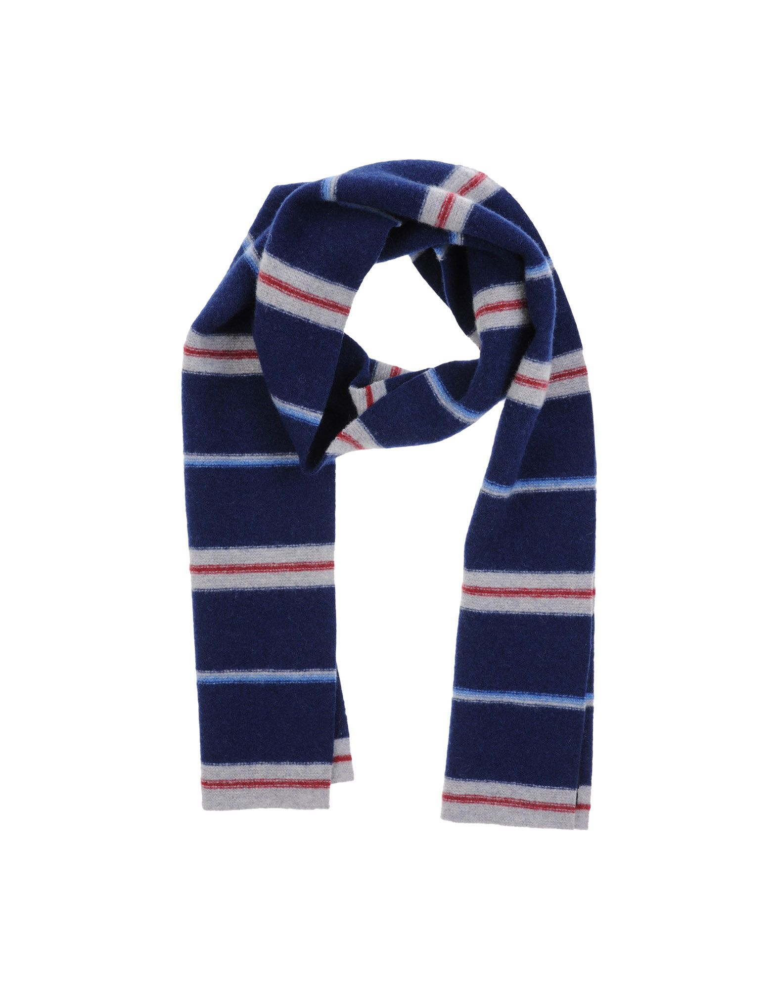 s oblong scarf in blue for lyst