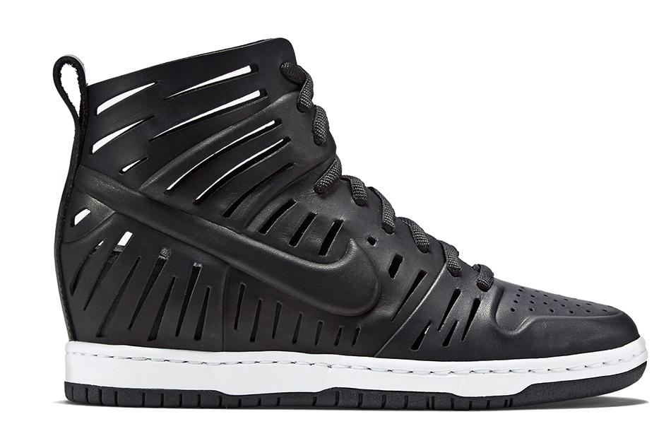 Lyst - Nike Wmns Dunk Sky Hi 2.0 Joli in Black 89dc9a30f