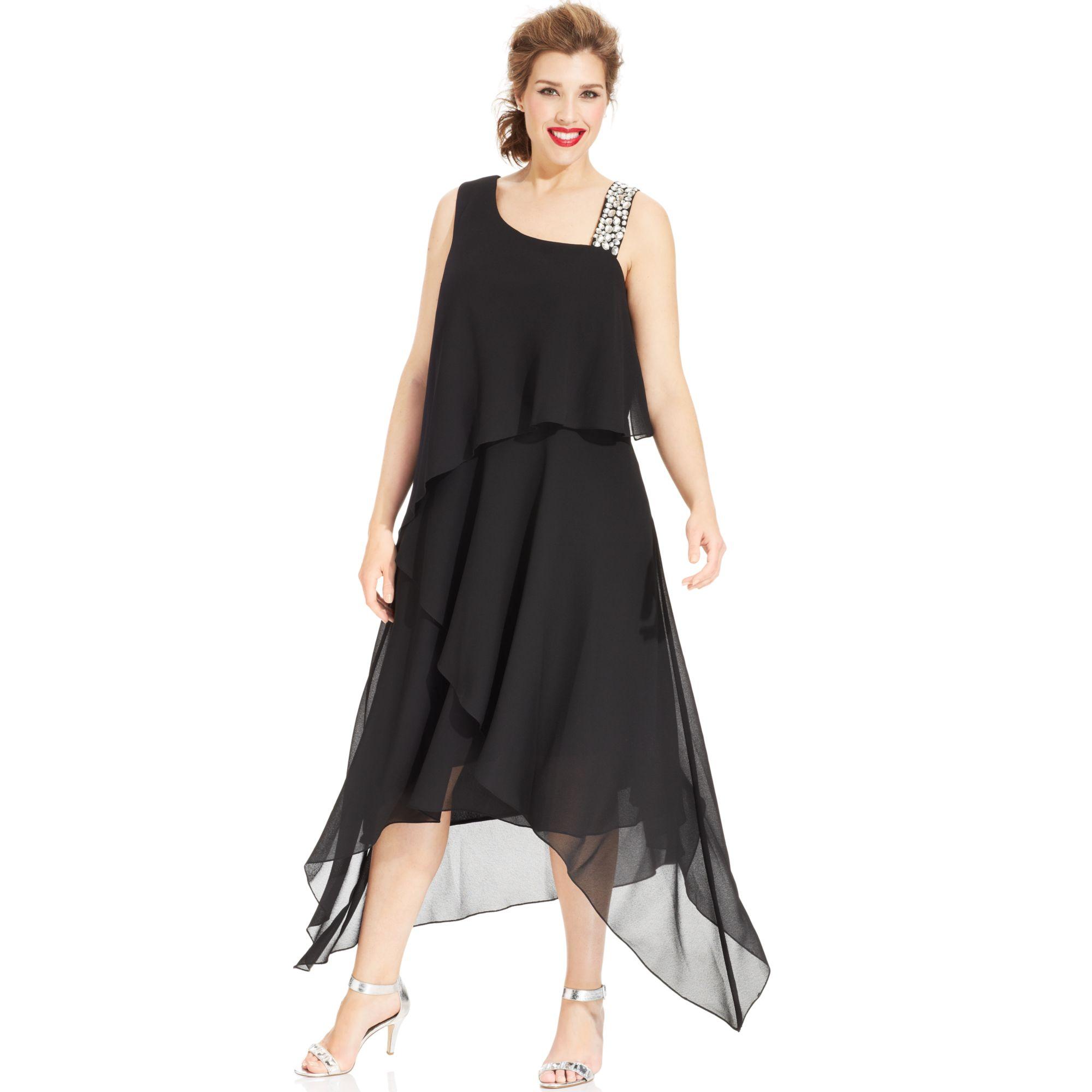 Dress Barn Plus Size Dressy Dresses By Alex Evenings Best Dresses
