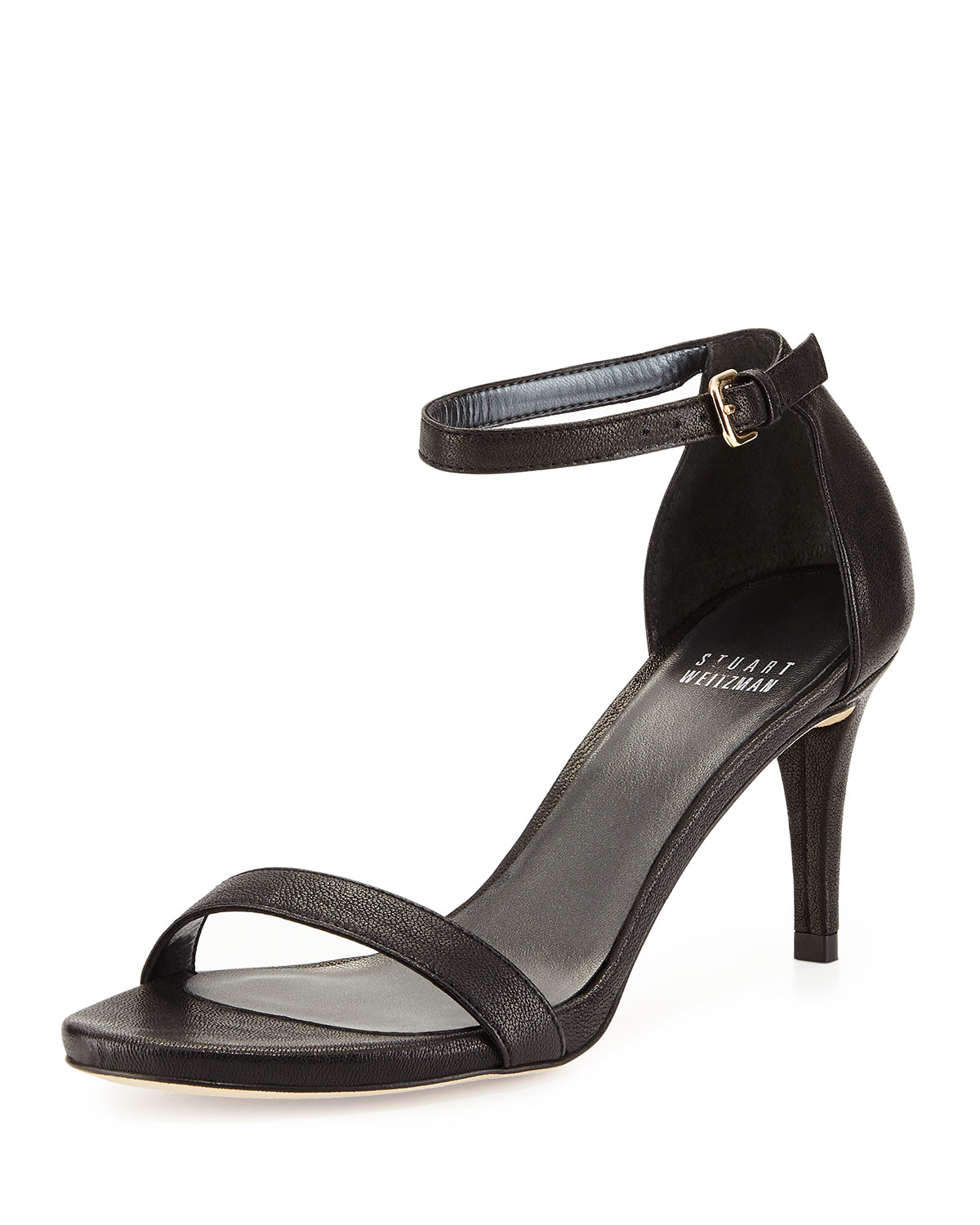 Lyst Stuart Weitzman Nunaked Leather D Orsay Sandals In