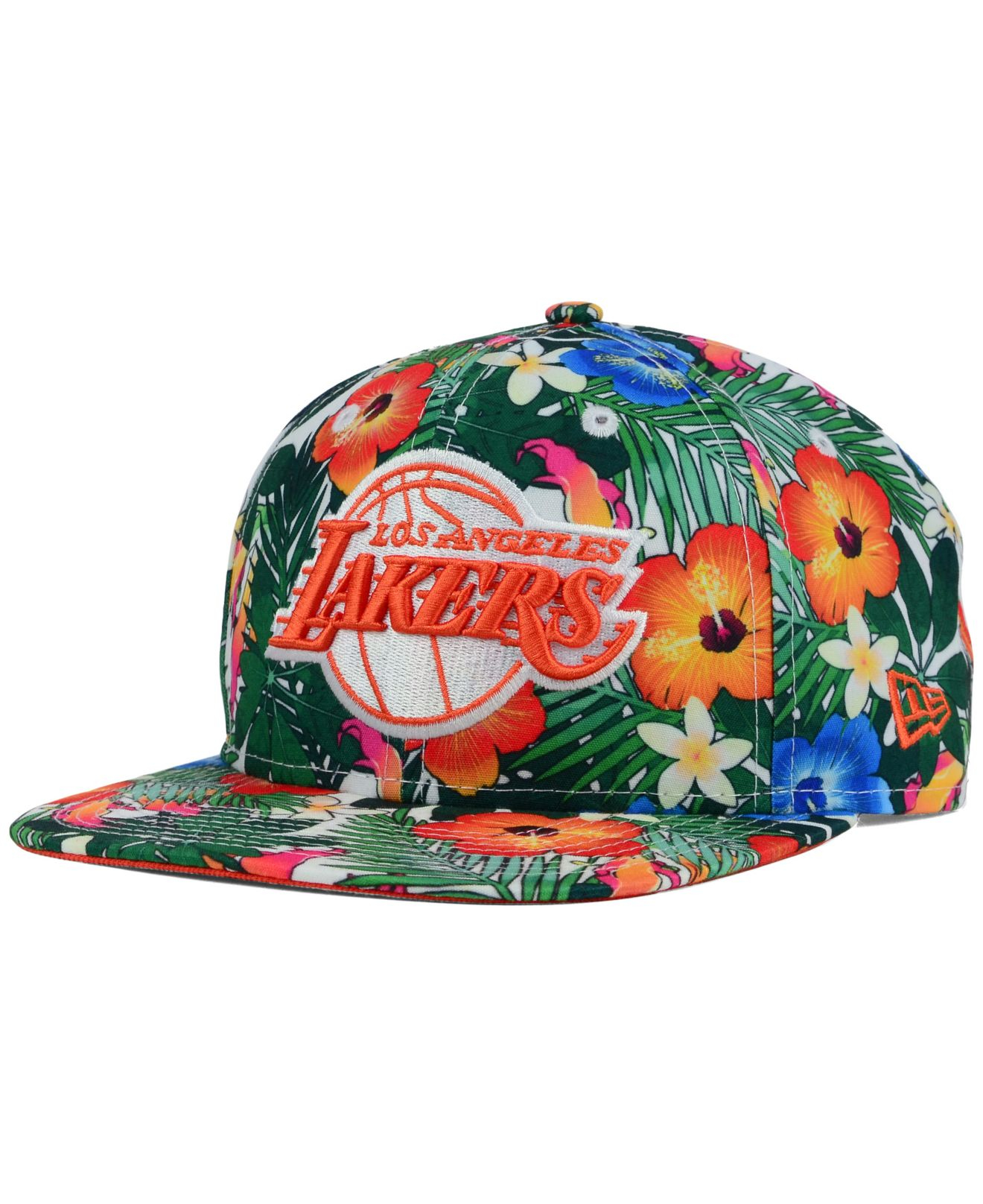 eebe6794ce630 ... coupon code for lyst ktz los angeles lakers hwc light floral 9fifty  snapback cap 41a52 e7384