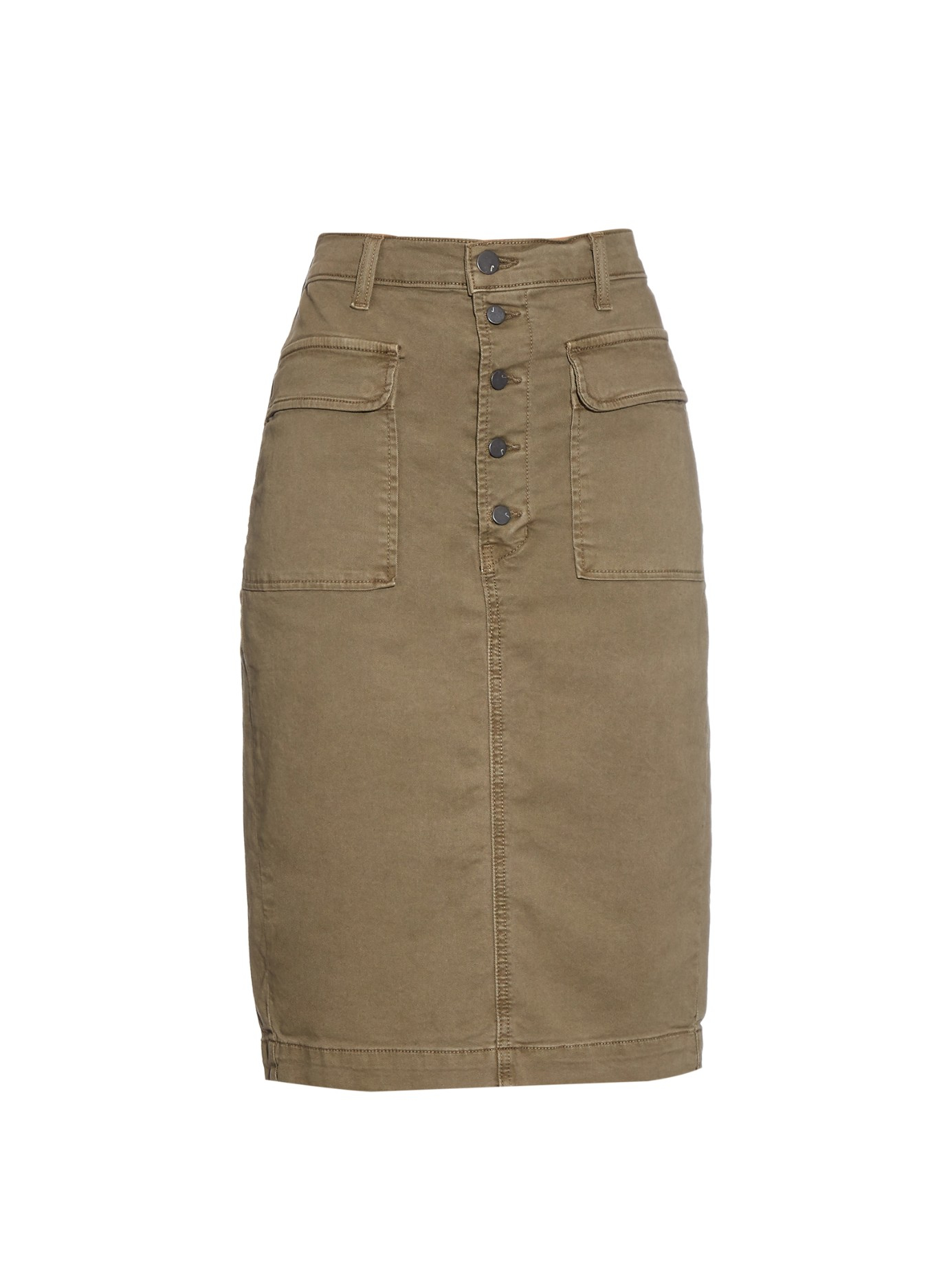 Pencil Skirt Khaki - Dress Ala