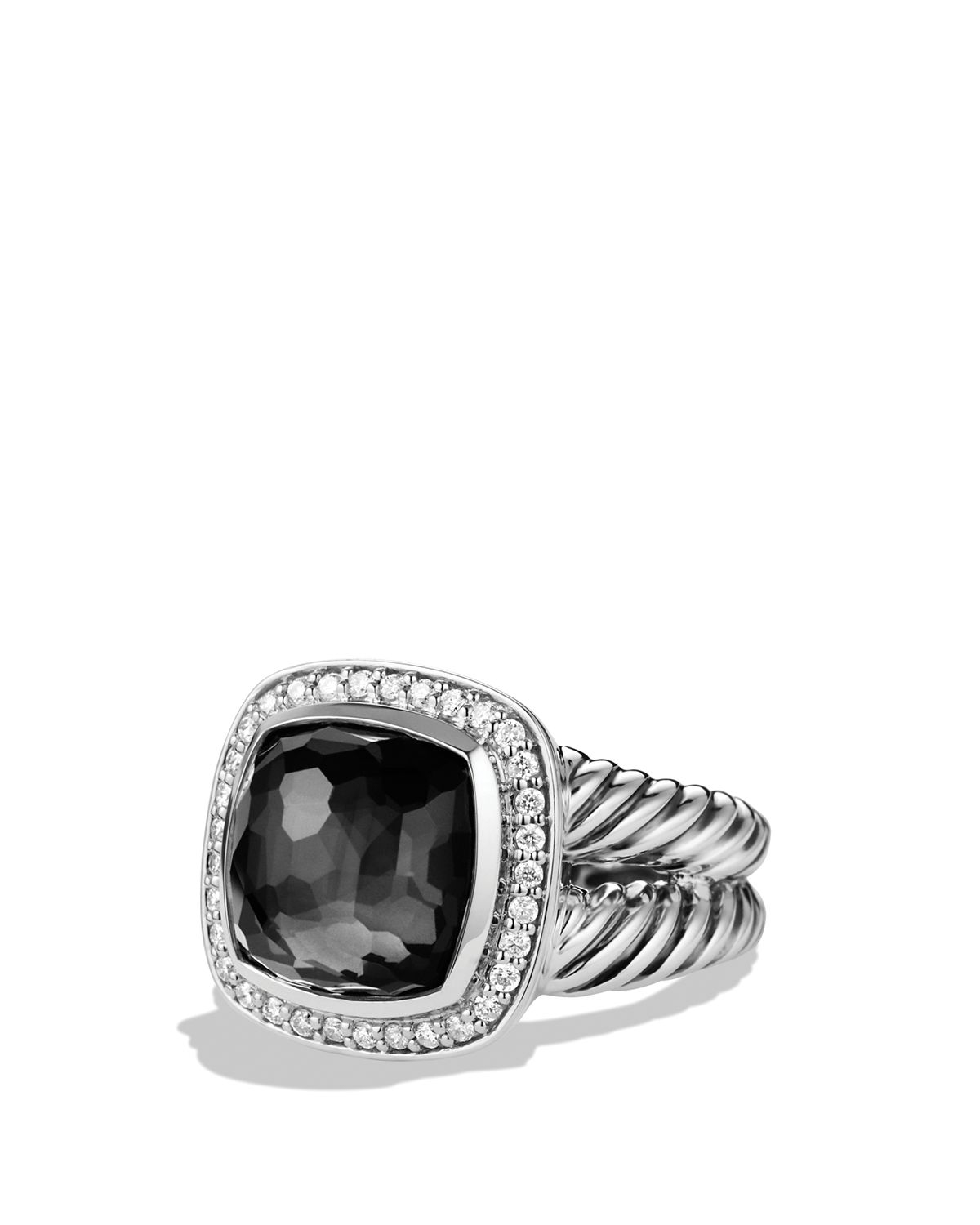 David yurman albion ring with black orchid and diamonds in for David s fine jewelry