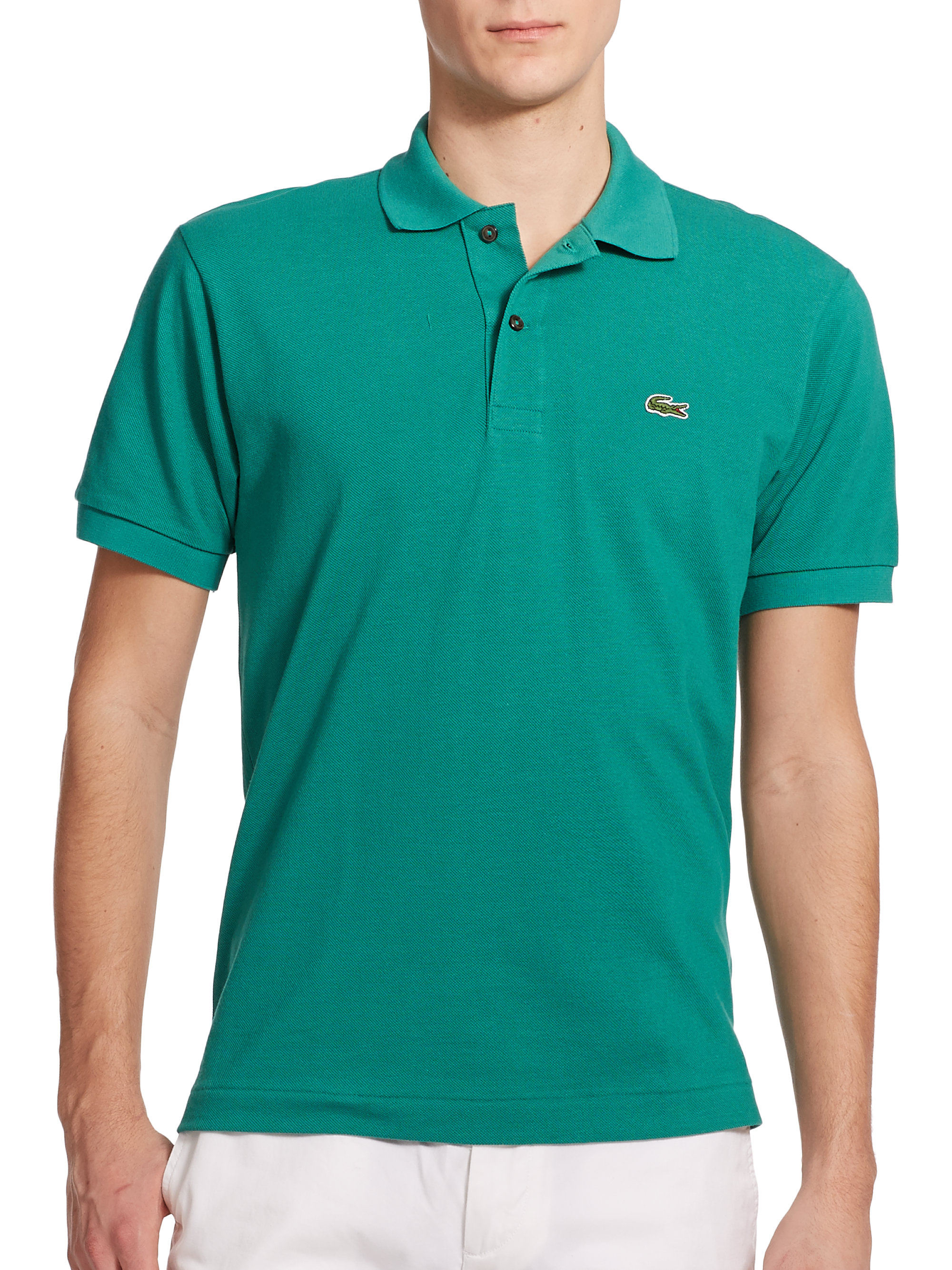 f150f3f6 low price green long sleeve lacoste polo a7ecc 0d28f