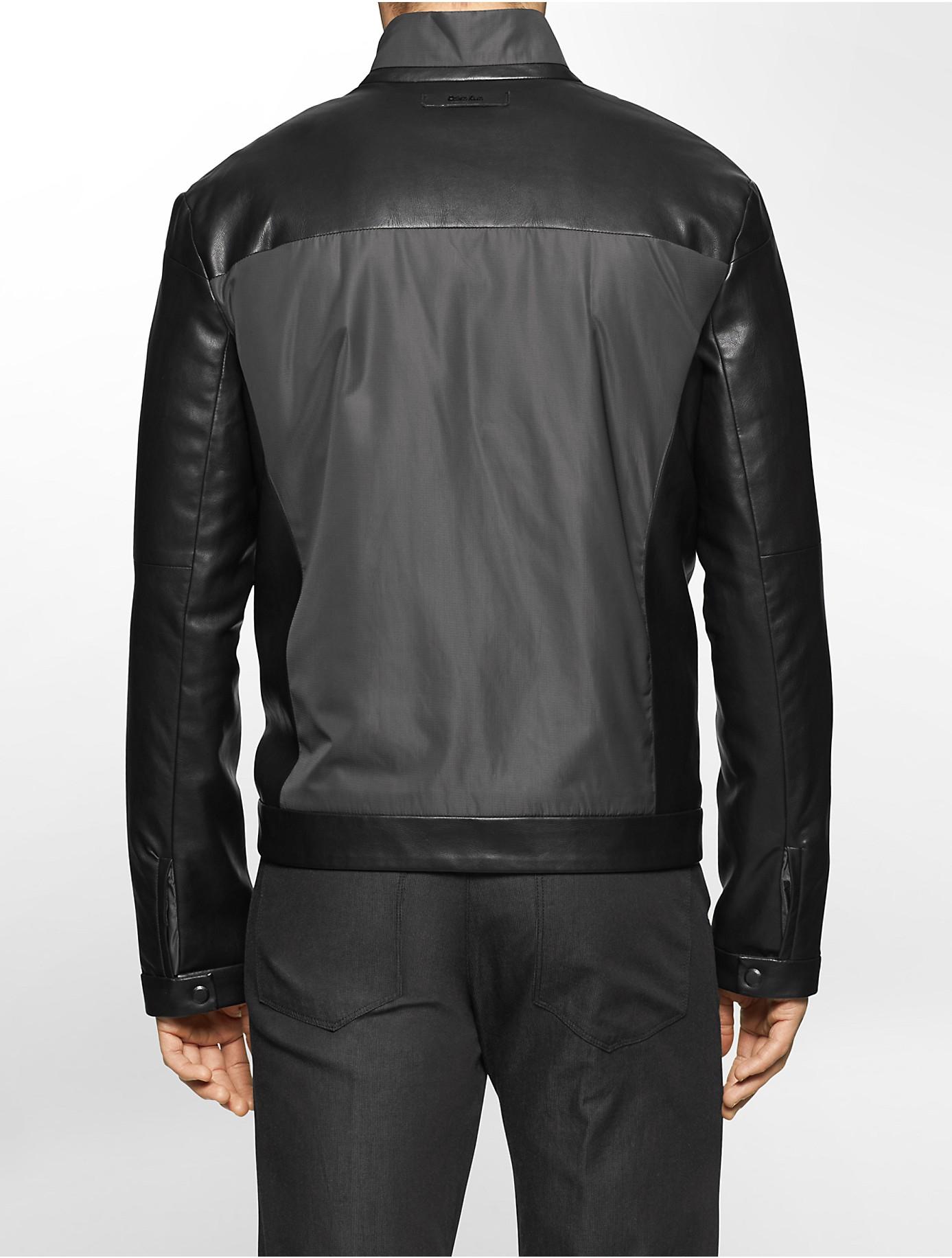 Love label leather jacket