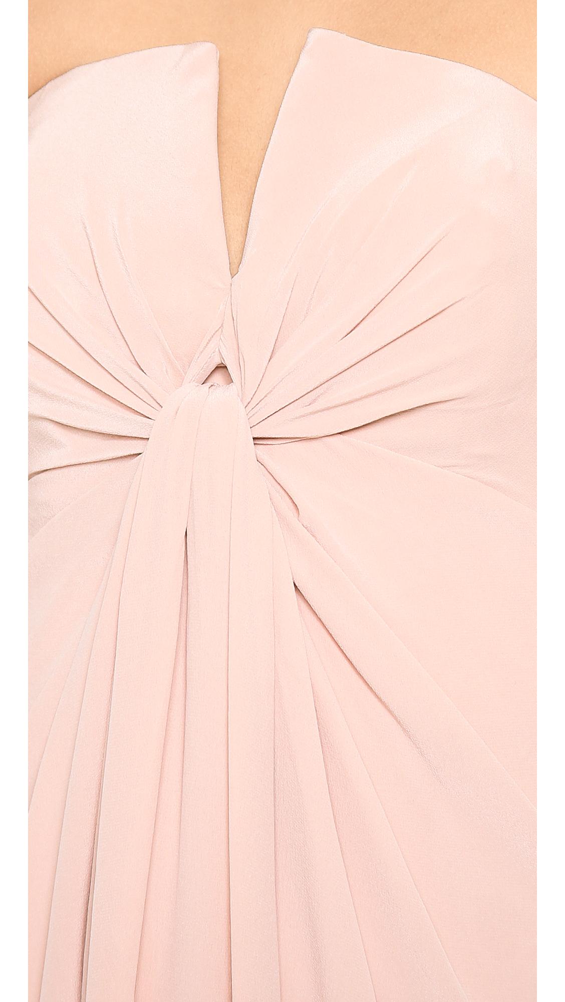 Silk v long dress zimmermann john