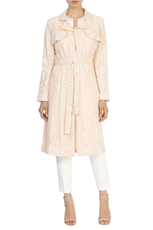 Lace Dress Coat Coat