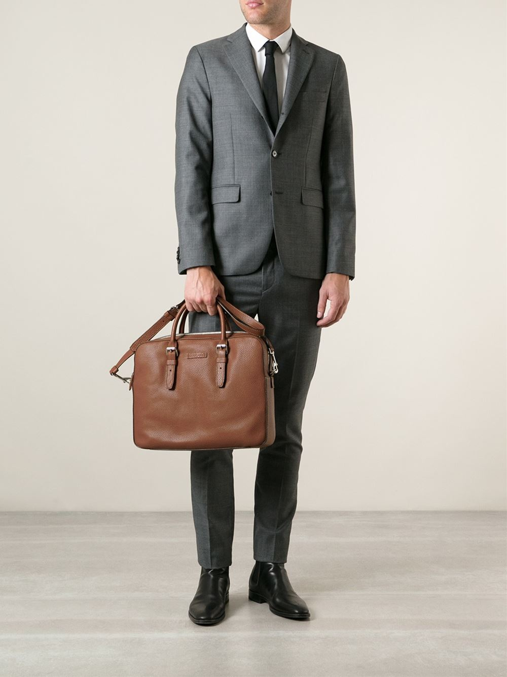 452f2cee4b67 Michael Kors Bryant Briefcase in Brown for Men - Lyst