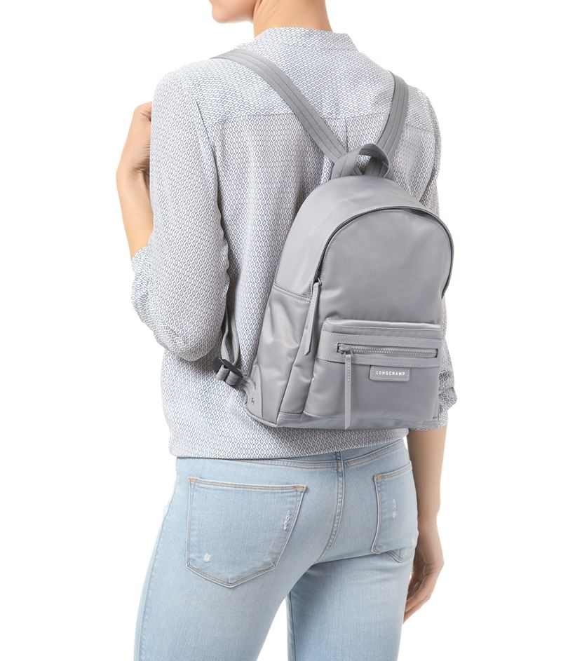 Longchamp Le Pliage Nã©o Backpack in Gray - Lyst 0b3491a3656c8