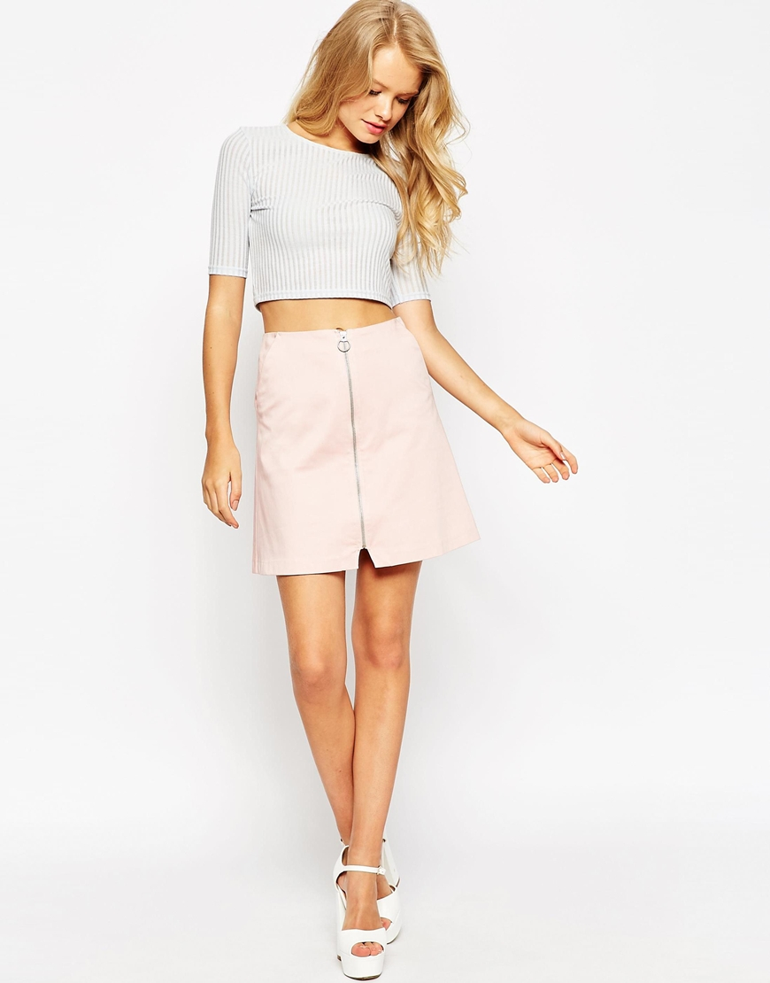 Blush A Line Skirt - Dress Ala