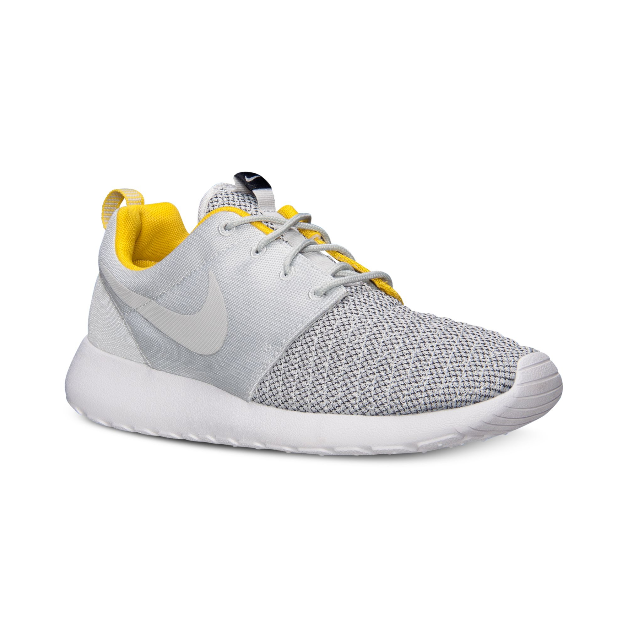 c201ced045d0 Lyst - Nike Mens Roshe Run Premium Casual Sneakers From Finish Line ...