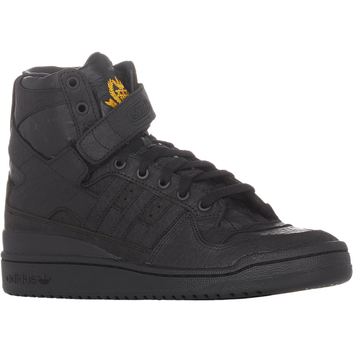 457262f9f42 coupon code adidas originals mid black white campus vulc shoes 581915 00e61  ebbf8  sweden lyst adidas forum hi og sneakers in black for men 4afde c7fd8