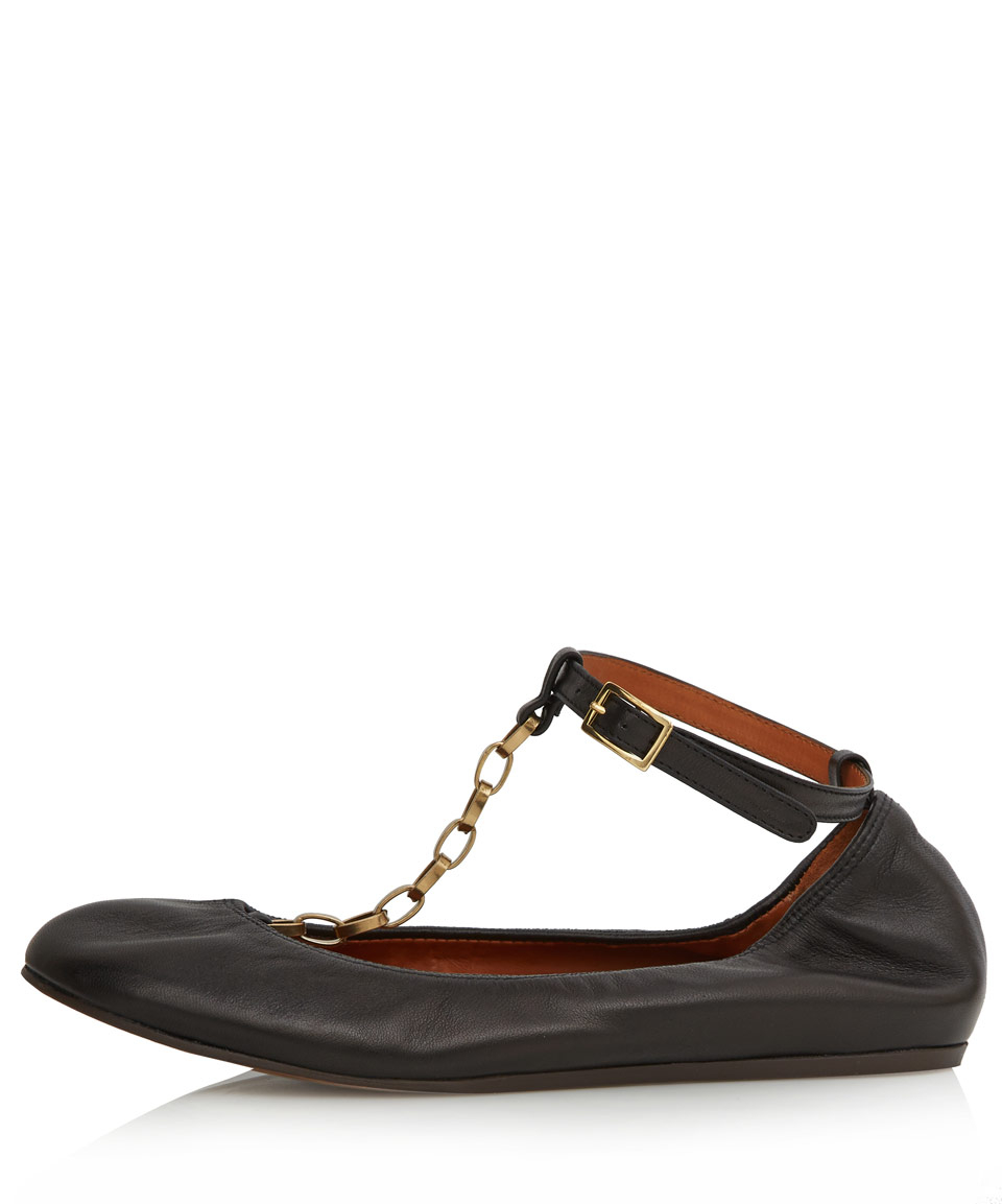 Lanvin Chain ballerina shoes