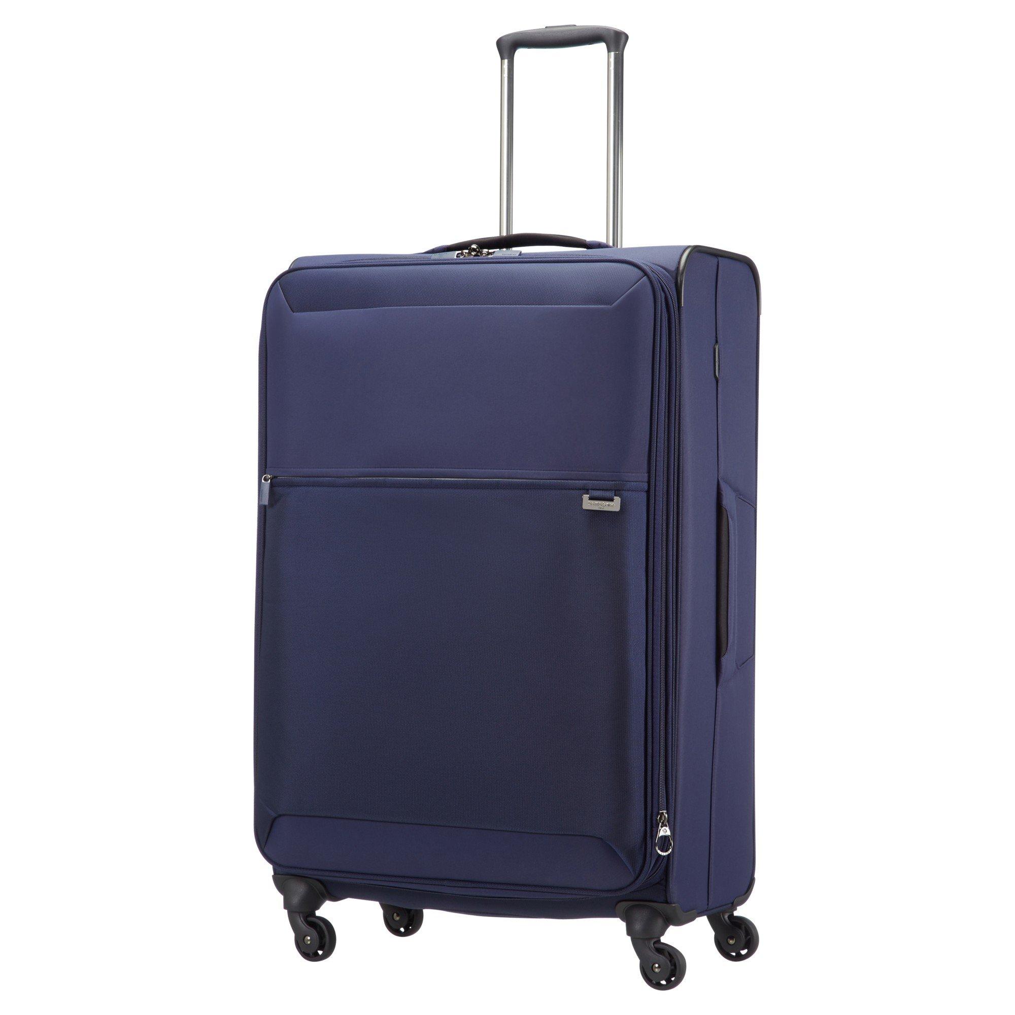 samsonite short lite 4 wheel 76cm large spinner suitcase. Black Bedroom Furniture Sets. Home Design Ideas