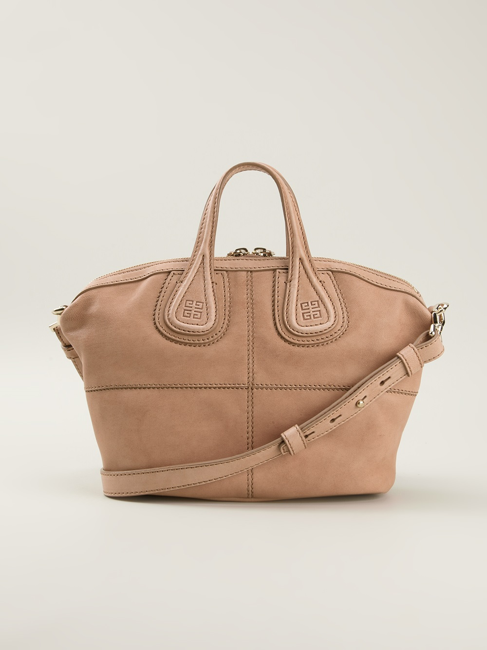 33f8143be784 Lyst - Givenchy Micro Nightingale Tote in Natural