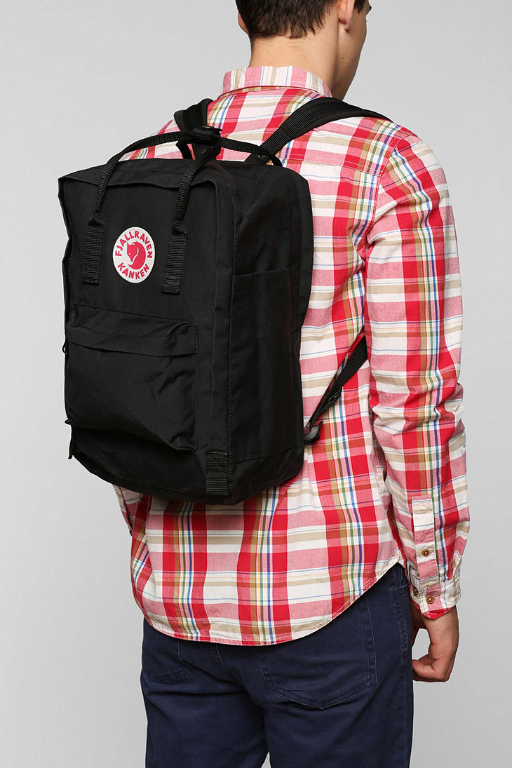 ffc253e8a6 Lyst - Urban Outfitters Fjallraven Kanken 15 Laptop Backpack in Black for  Men