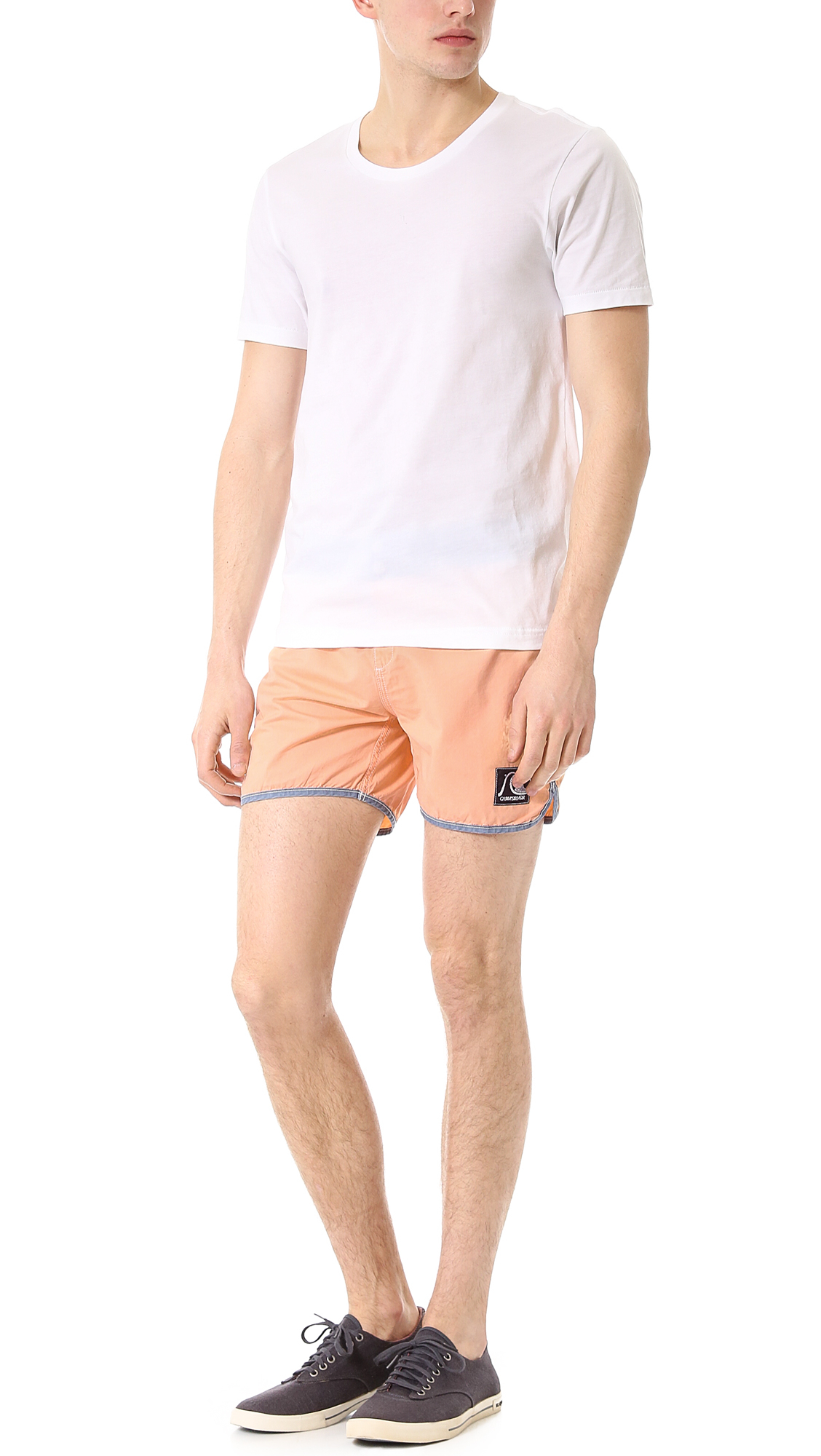 f3e04d999a Quiksilver Scallop 15 Board Shorts in Pink for Men - Lyst
