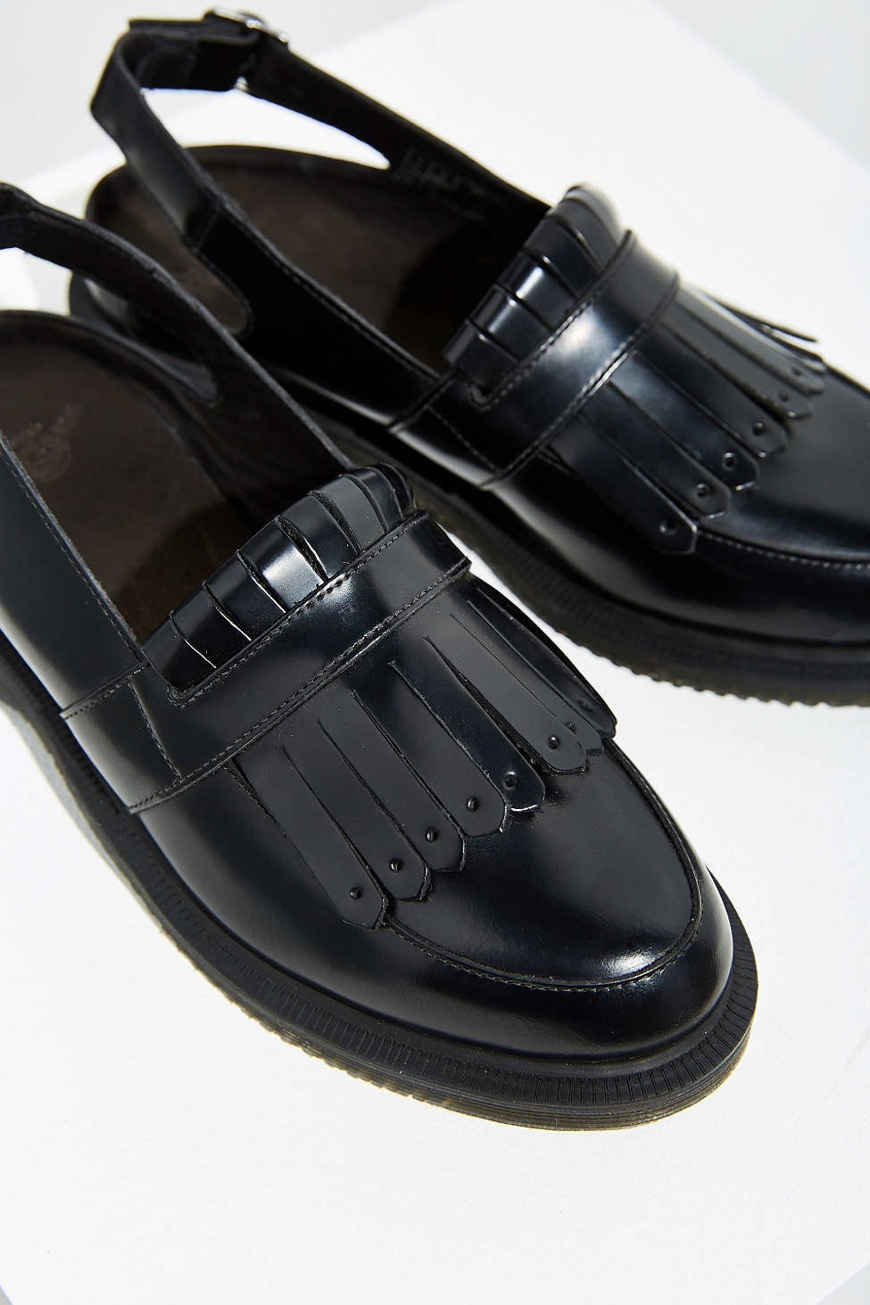 5449fcb3947 Lyst - Dr. Martens Valentine Slingback Loafer in Black