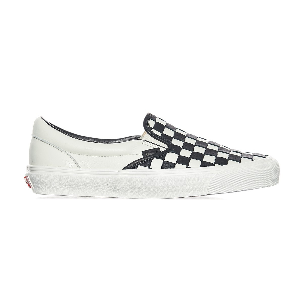 d1eed1cd54 Lyst - Vans Og Classic Slip-on Lx 50th Checkerboard Anniversary ...