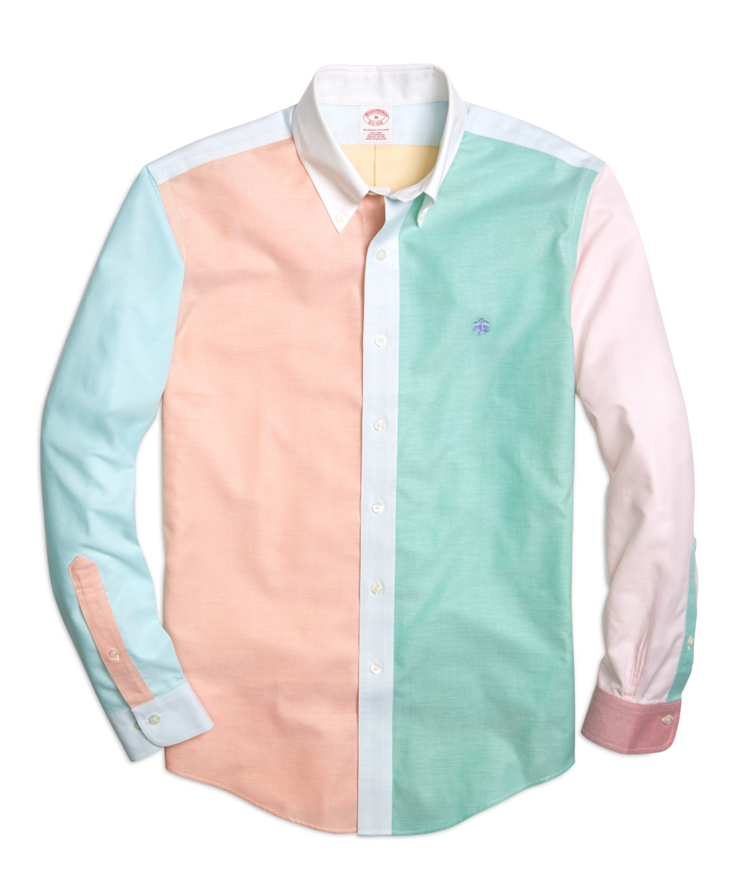 Brooks brothers supima cotton non iron slim fit oxford for Brooks brothers sports shirts
