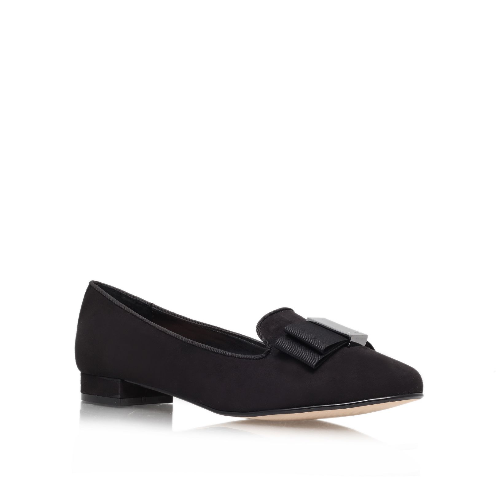 Kurt Geiger Black Court Shoes