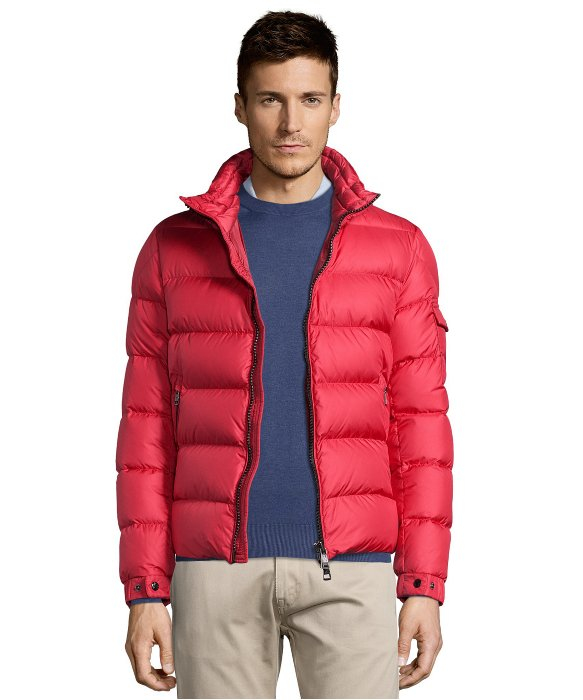 moncler hymalay jacket red