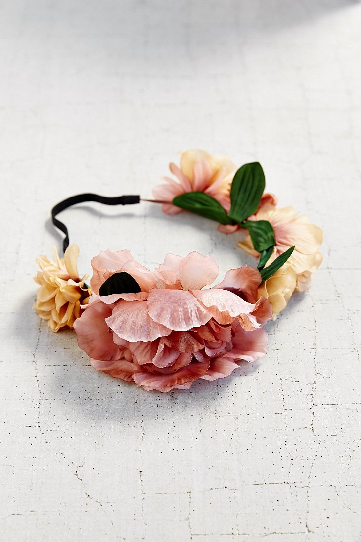 Lyst urban outfitters watercolor flower crown gallery izmirmasajfo
