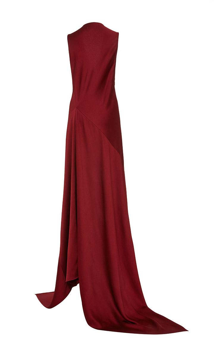 1972f5f637afd Lyst - Rosetta Getty Bias Spiral Gown in Red