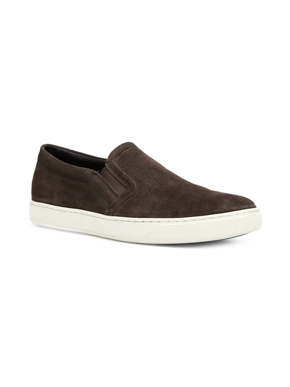 vince barron sneakers in brown for lyst