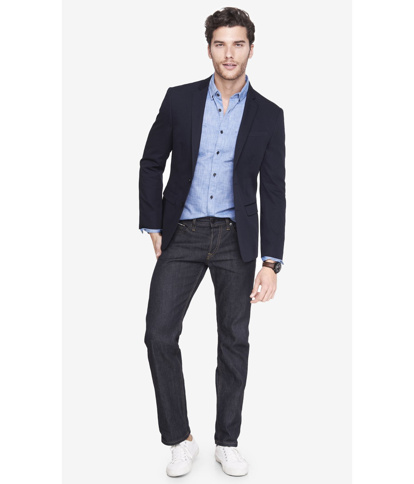 Navy Blazer Mens | Fashion Ql