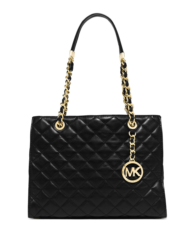 Michael Michael Kors Susannah Medium Quilted Tote Bag In