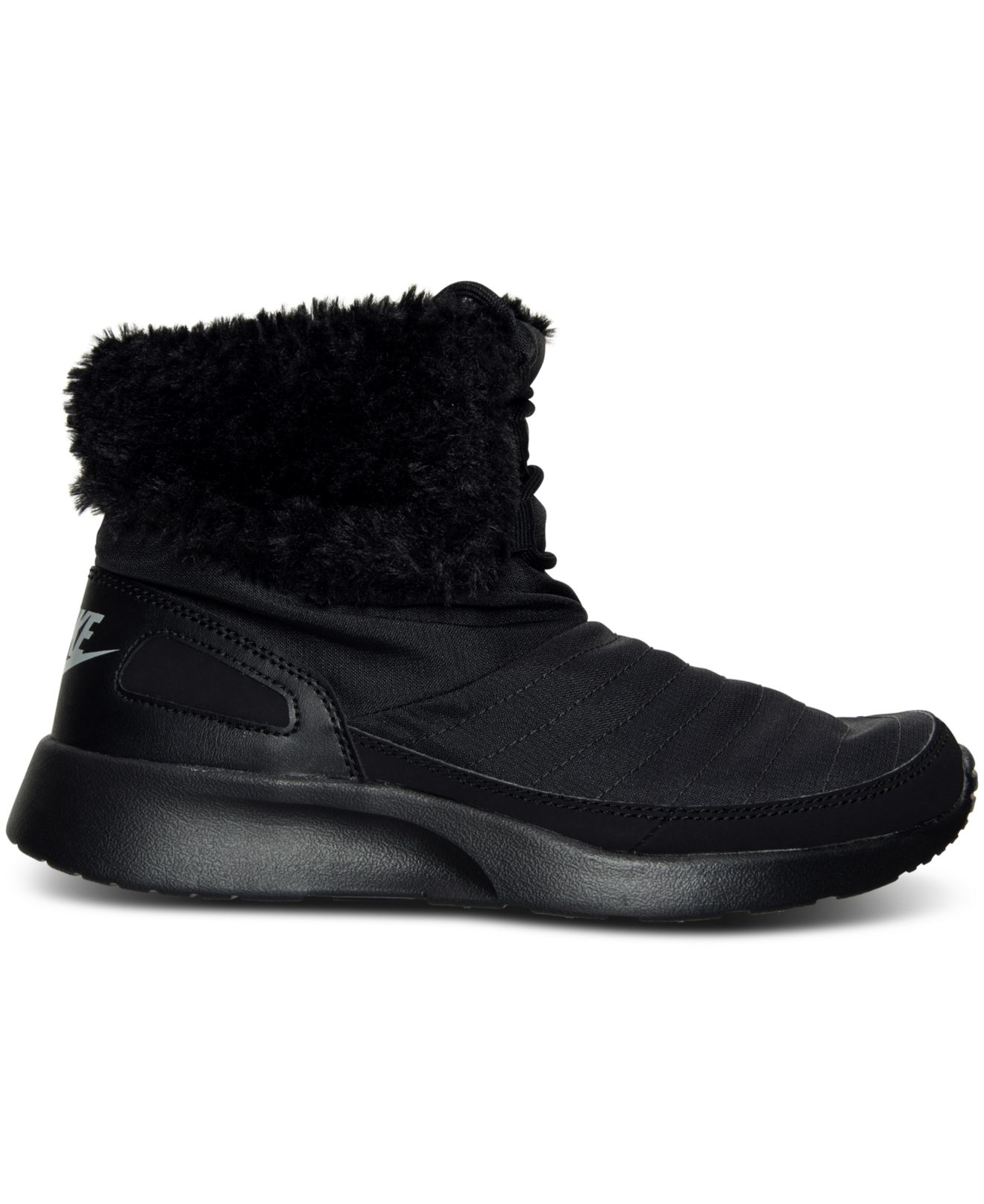 67134c3ad273b3 Lyst - Nike Women s Kaishi Winter High Sneakerboots From Finish Line ...