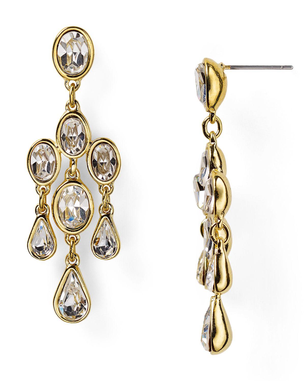 Lyst carolee monaco moments small chandelier earrings in metallic gallery aloadofball Gallery