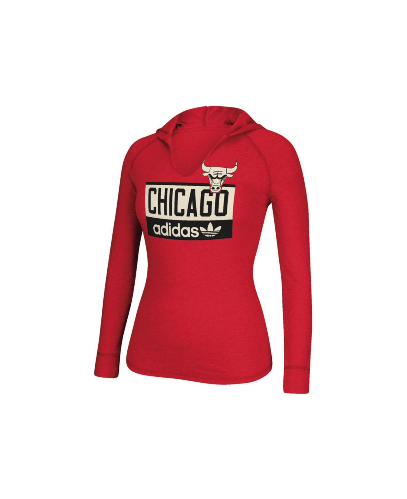 Adidas Women 39 S Long Sleeve Chicago Bulls Straight Talk
