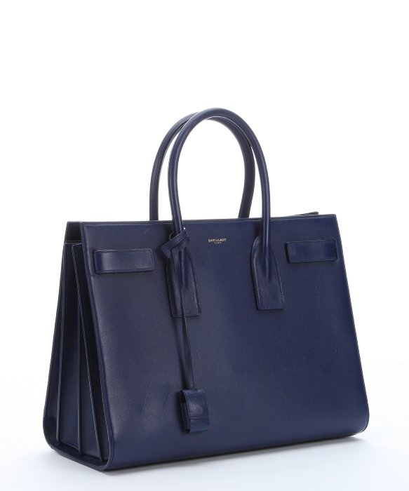 large Sac de Jour carry-all tote - Blue Saint Laurent AvDDtXYU