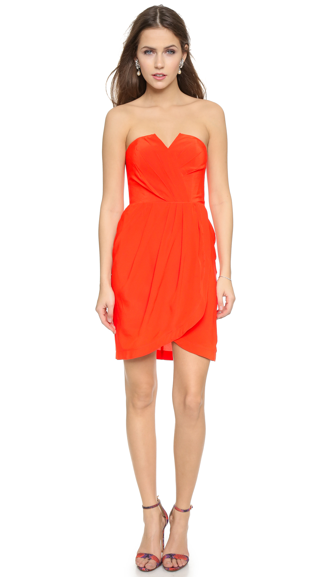 lyst  yumi kim date night dress in red