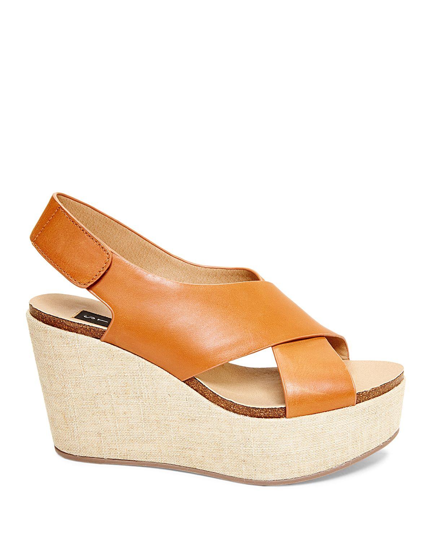 71d4e577e83 Lyst - Steven by Steve Madden Open Toe Platform Wedge Sandals ...