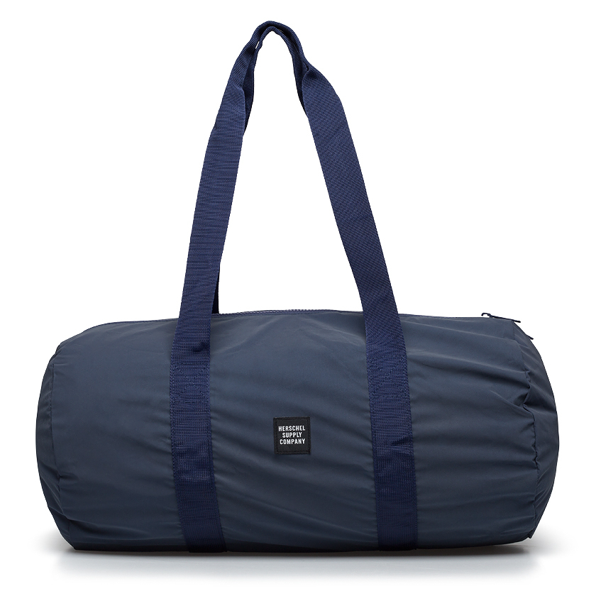 herschel supply co reflective navy packable duffel bag in